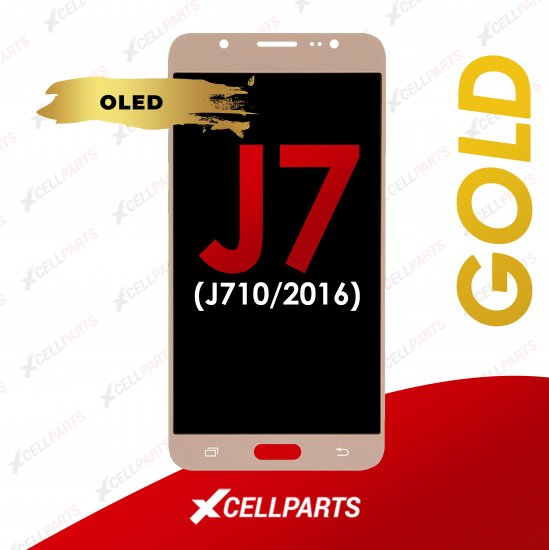 OLED ASSEMBLY COMPATIBLE FOR SAMSUNG J710 GOLD